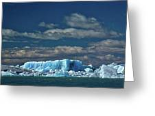 Iceberg In Viedma Lake - Patagonia Greeting Card