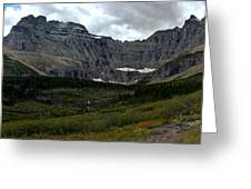 Iceberg Lake Trail Greeting Card