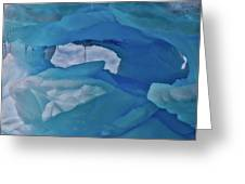 Iceberg Window Greeting Card