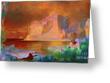 Icebergs Greeting Card