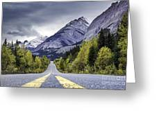 Icefield Parkway Greeting Card