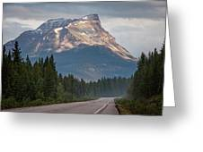 Icefields Parkway Banff National Park Greeting Card