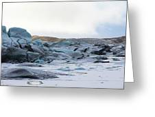 Iceland Glacier Mountains Sky Clouds Iceland 2 2142018 1742.jpg Greeting Card