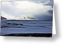 Iceland Lava Field Mountains Clouds Iceland Lava Field Mountains Clouds Iceland 2 282018 1837.jpg Greeting Card