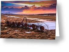 Iceland Sunset # 1 Greeting Card
