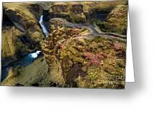 Icelandic Autumn Greeting Card