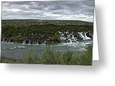 Icelandic Waterfall Greeting Card