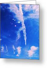 Icicle Clouds 1 Greeting Card