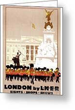 Iconic London  Greeting Card