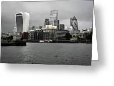 Iconic London Skyline Greeting Card
