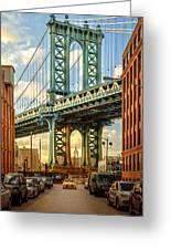 Iconic Manhattan Greeting Card