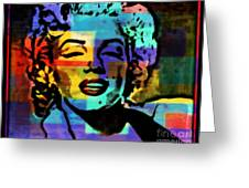 Iconic Marilyn Greeting Card