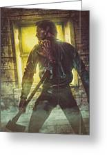 Icons Of Horror Evil Dead Greeting Card