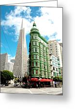 Icons Of San Fran Greeting Card