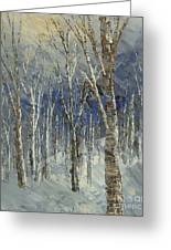 Icy Bells Greeting Card