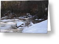 Icy Creek Greeting Card