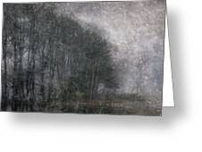 Icy Fog Greeting Card