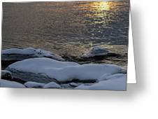 Icy Islands - Greeting Card