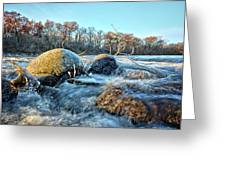 Icy Waters 2 Greeting Card
