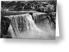 Idaho: Bridal Veil Falls Greeting Card