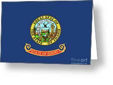 Idaho State Flag Greeting Card