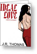 Ideal Love Book Cover Greeting Card