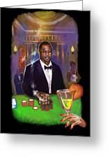 Idris Elba As James Bond 007 #2 Greeting Card