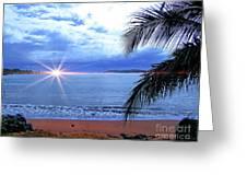Idyllic Paradise In Bocas Del Toro, Panama II Greeting Card