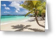 Idyllic Salomon Beach Greeting Card