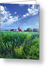 If Seasons All Were Summers Greeting Card