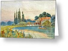 Iffley Mill On The River Thames Greeting Card