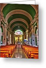 Iglesia De La Merced Greeting Card