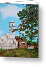 Iglesia De Santa Anna Greeting Card