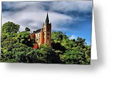 Iglesia Del Calvario Greeting Card