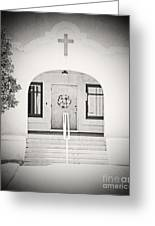 Iglesia Encantada Greeting Card