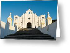 Iglesia San Andres Apostol - Apaneca 4 Greeting Card
