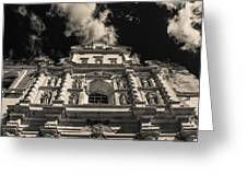 Iglesia San Francisco - Antigua Guatemala Bnw I Greeting Card