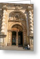 Iglesia San Francisco - Antigua Guatemala Viii Greeting Card