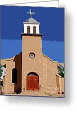 Iglesia San Jose 1922 Greeting Card