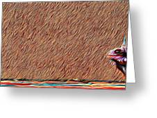 Iguana Blend Greeting Card