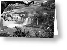 Iguazu Falls Vii Greeting Card