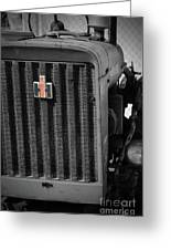Ih Tractor Greeting Card