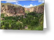 Ihlara Valley - Turkey Greeting Card