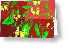 Ikebana Greeting Card by Eikoni Images