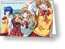 Ikki Tousen Greeting Card