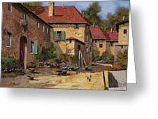 Il Carretto Greeting Card by Guido Borelli