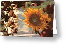 Il Girasole Greeting Card