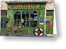 Il Nautilus Greeting Card