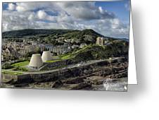 Ilfracombe From Capstone Hill Greeting Card