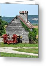 Ilini Barn Greeting Card